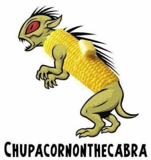 Cartoon - CHUPACORNONTHECABRA