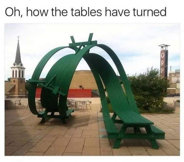 Plant - Oh, how the tables have turned 1ADO