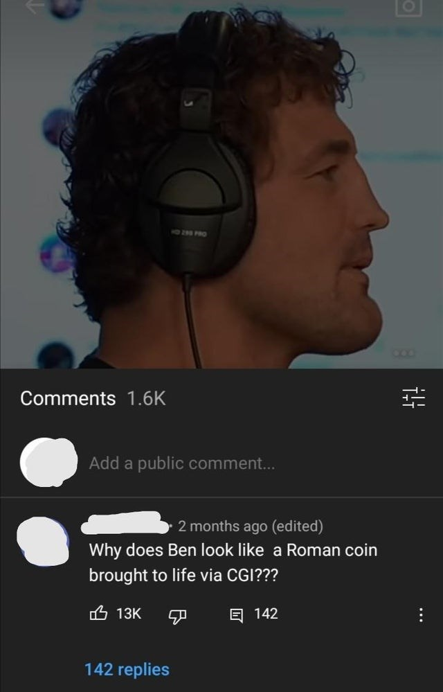 Peripheral - 10 FO Comments 1.6K Add a public comment... 2 months ago (edited) Why does Ben look like a Roman coin brought to life via CGI??? 凸 13K 回 142 142 replies