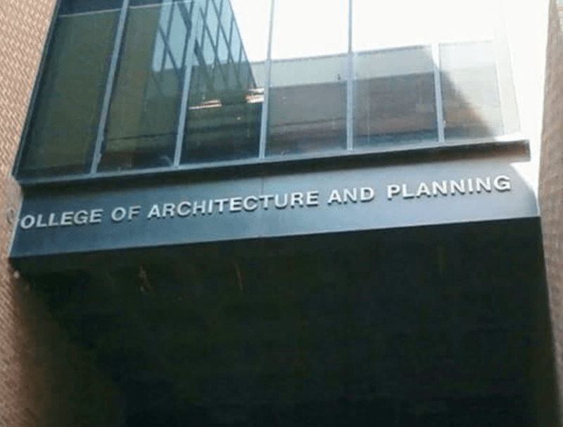 Window - OLLEGE OF ARCHITECTURE AND PLANNING