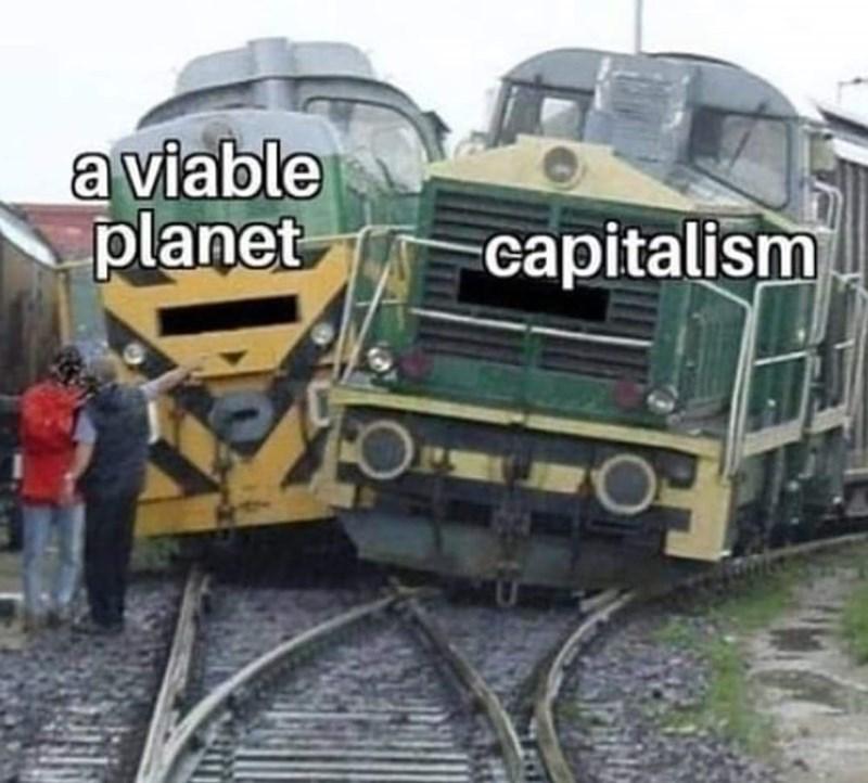 Train - a viable planet capitalism