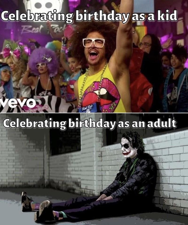 Glasses - Celebrating birthday as a kid Beat ack vevo Celebrating birthday as an adult
