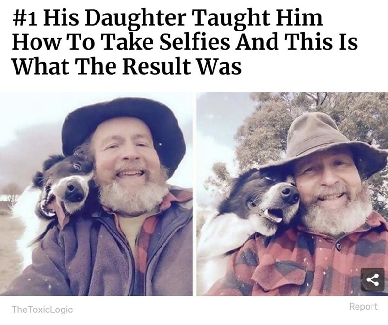 Clothing - #1 His Daughter Taught Him How To Take Selfies And This Is What The Result Was The ToxicLogic Report V