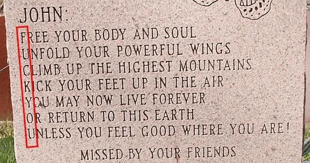 Funny, badass, gravestones, epitaphs, funny epitaphs, savage gravestones, clever graves, death