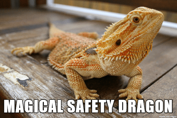 Head - MAGICAL SAFETY DRAGON made on imgur