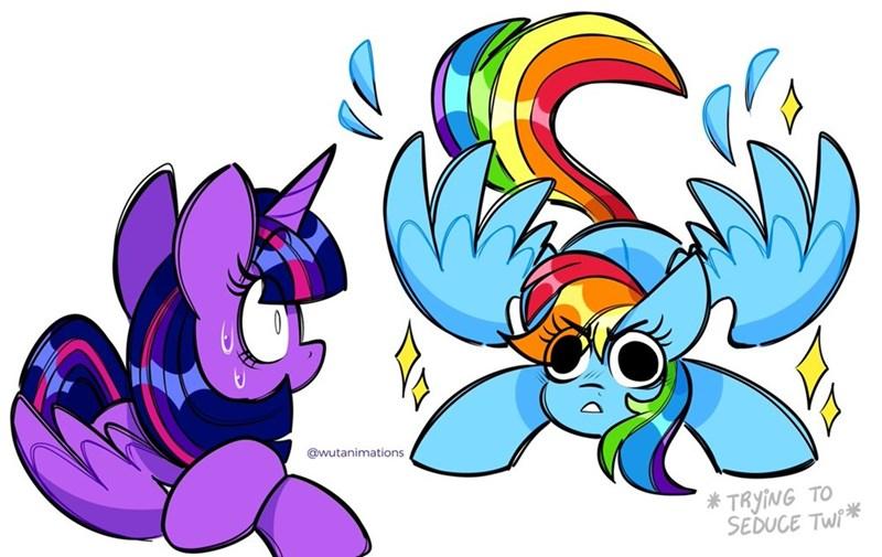 shipping twilight sparkle wutanimations rainbow dash - 9630765568