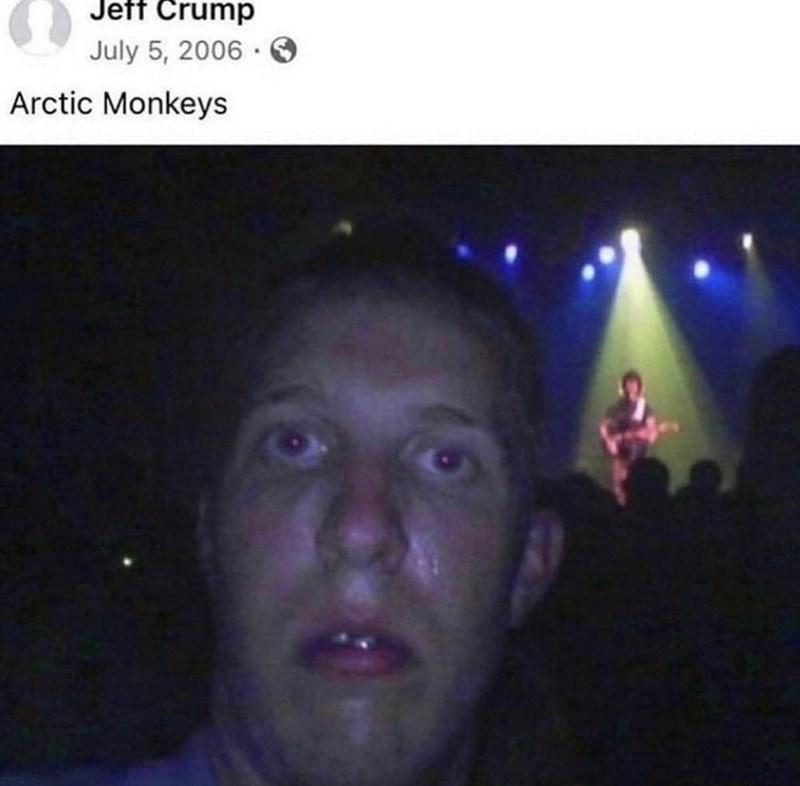 Forehead - Jeff Crump July 5, 2006 · Arctic Monkeys