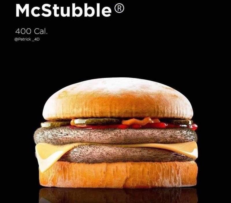 Food - McStubble R 400 Cal. @Patrick _4D