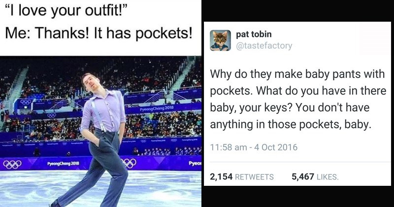 Funny memes about pockets