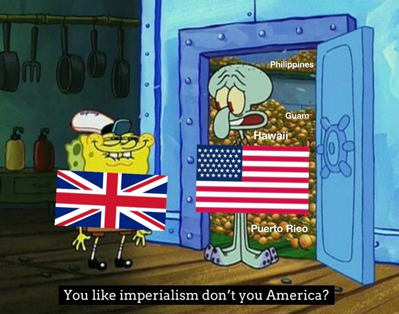 Vertebrate - Philippines w. Guam V Hawaii Puerto Rico You like imperialism don't you America?