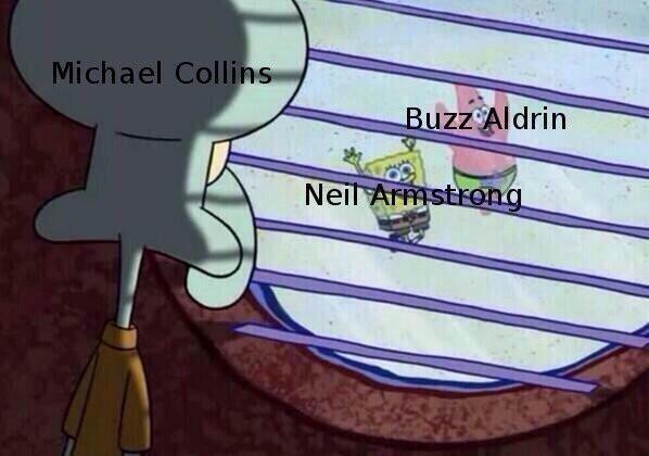 Font - Michael Collins Buzz Aldrin Neil Armstrong