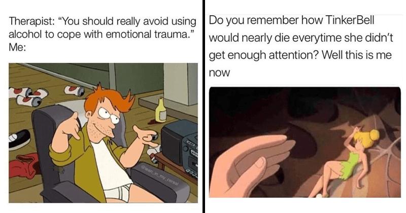 Funny random memes, stupid memes, relatable memes, simpsons memes, hannibal burress, stupid memes, parenting memes.