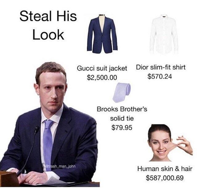 Outerwear - Steal His Look Gucci suit jacket Dior slim-fit shirt $2,500.00 $570.24 Brooks Brother's solid tie $79.95 atrash_man_john Human skin & hair $587,000.69