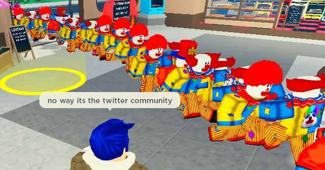 World - no way its the twitter community