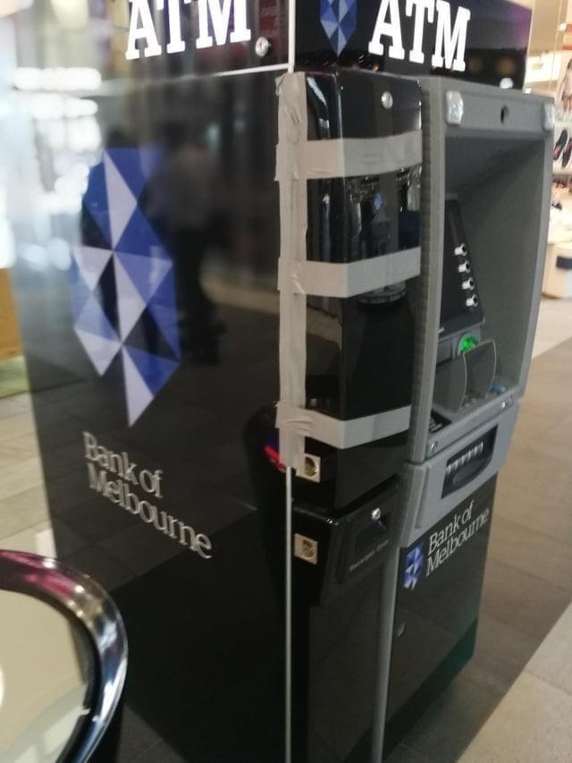 Automotive design - ATM, ATM Bank of Melbourne 7Bank o Melboune