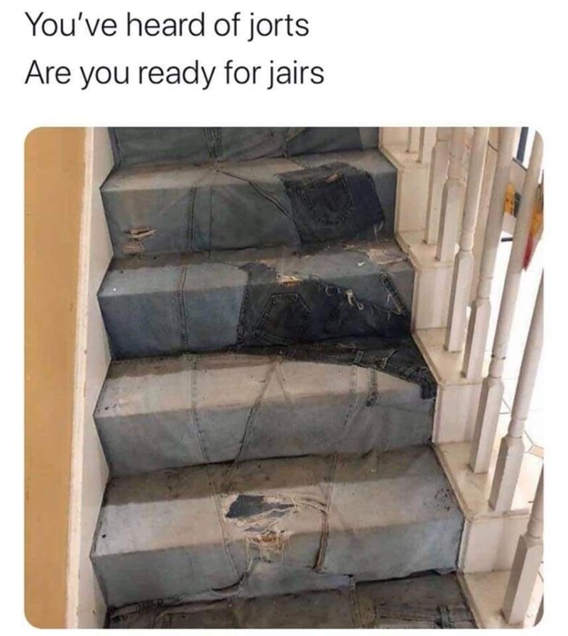 Automotive tire - You've heard of jorts Are you ready for jairs