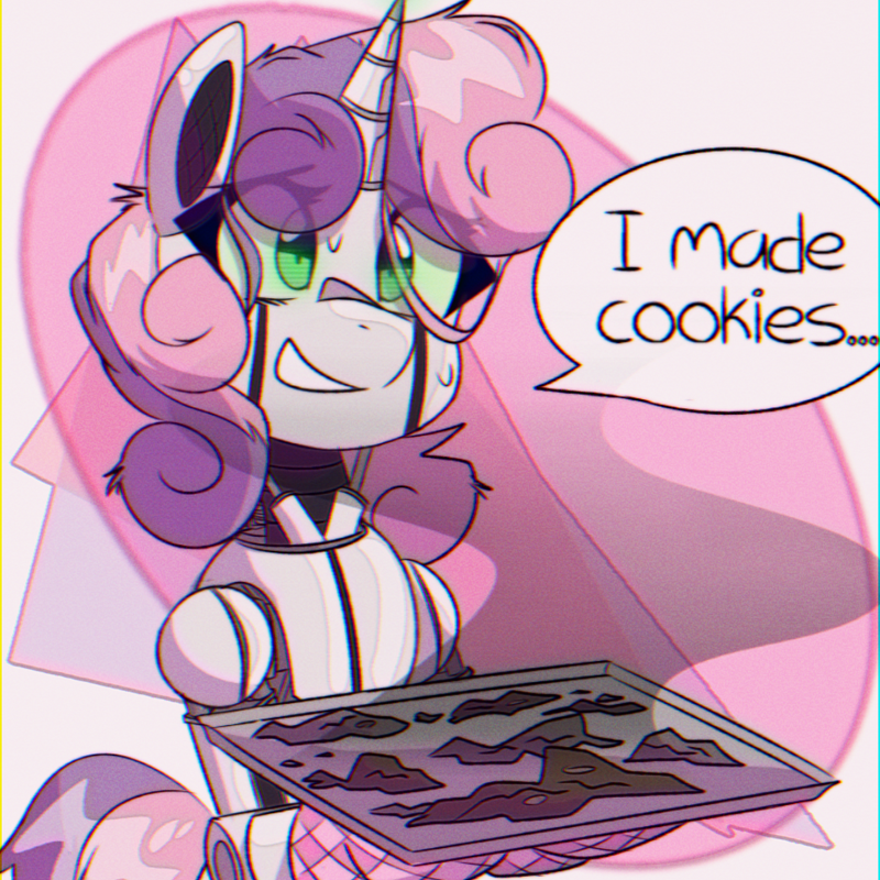 provolone pone Sweetie Belle sweetie bot - 9632920064