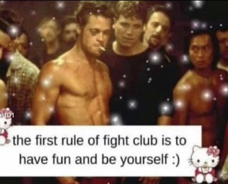 Muscle - m101 the first rule of fight club is to have fun and be yourself :)
