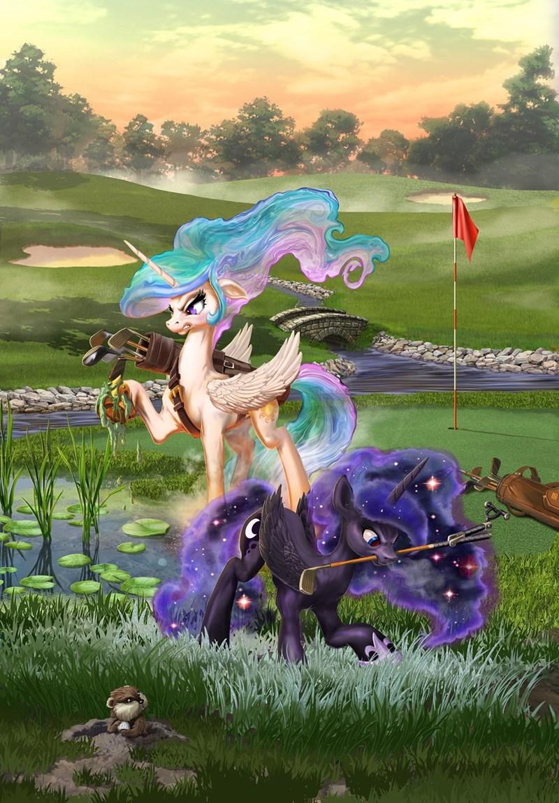 caddyshack princess luna harwick princess celestia - 9633635072