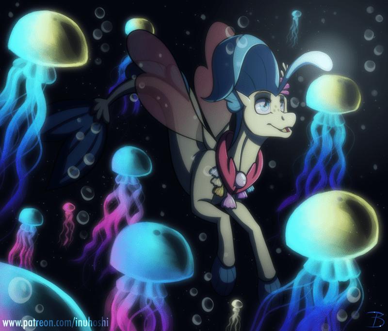 inuhoshi-to-darkpen princess skystar hippogriff - 9634020352