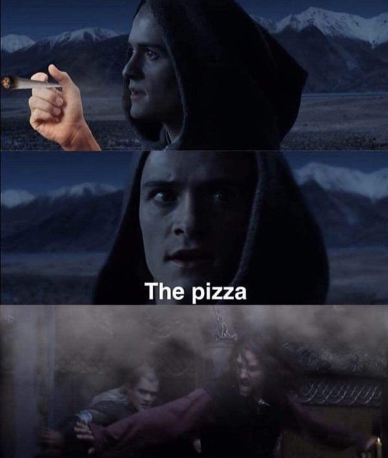 Cloud - The pizza