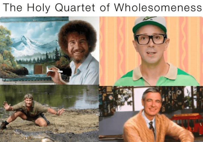 Photograph - The Holy Quartet of Wholesomeness