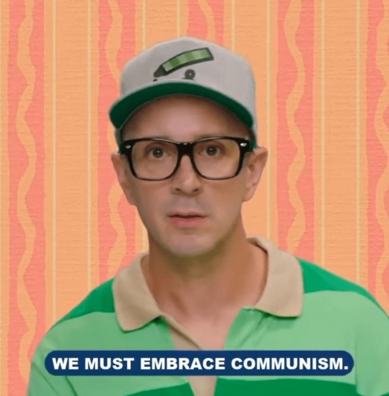 Forehead - WE MUST EMBRACE COMMUNISM.