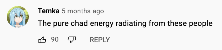 Font - Temka 5 months ago The pure chad energy radiating from these people 6 90 REPLY