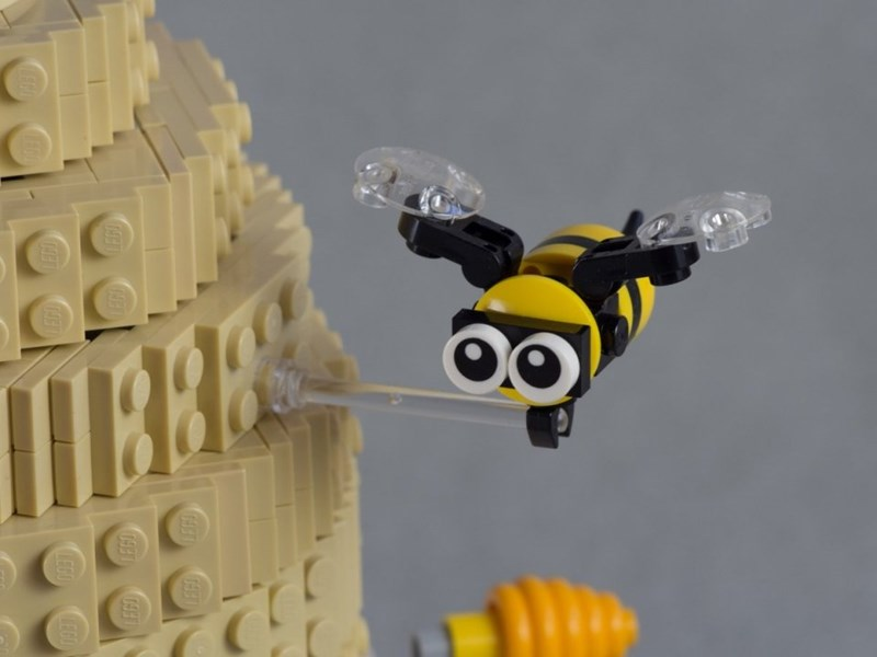 lego beehive