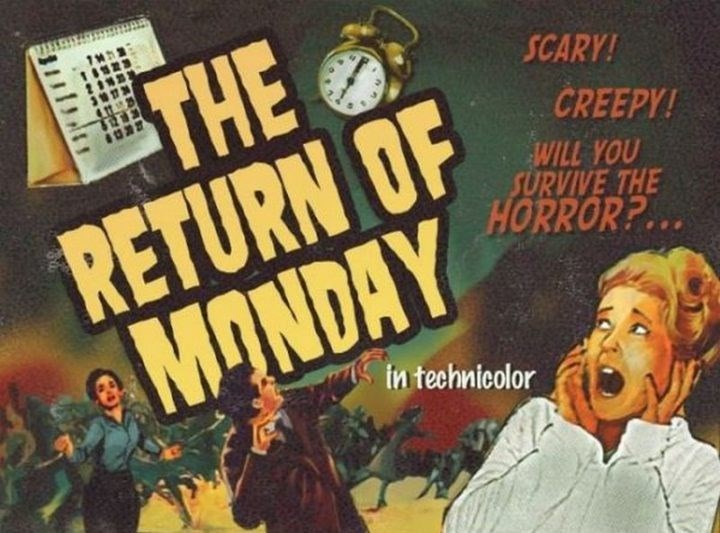 Watch - THE RETURN OF MONDAY 1852 SCARY! CREEPY! WILL YOU SURVIVE THE HORROR?... in technicolor