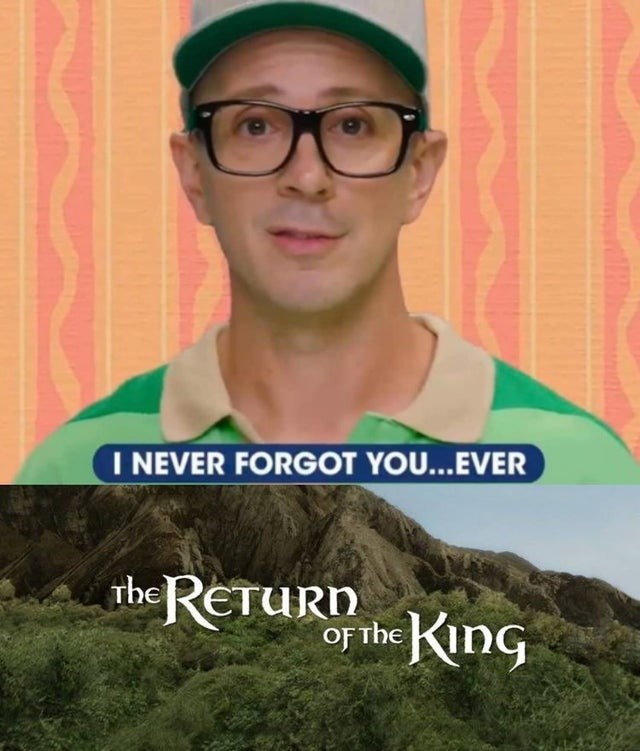 Hair - I NEVER FORGOT YOU...EVER theREtURn King