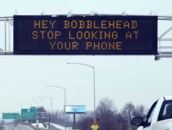 Sky - HEY BOBBLEHEAD STOP LOOKING AT YOUR PHONE