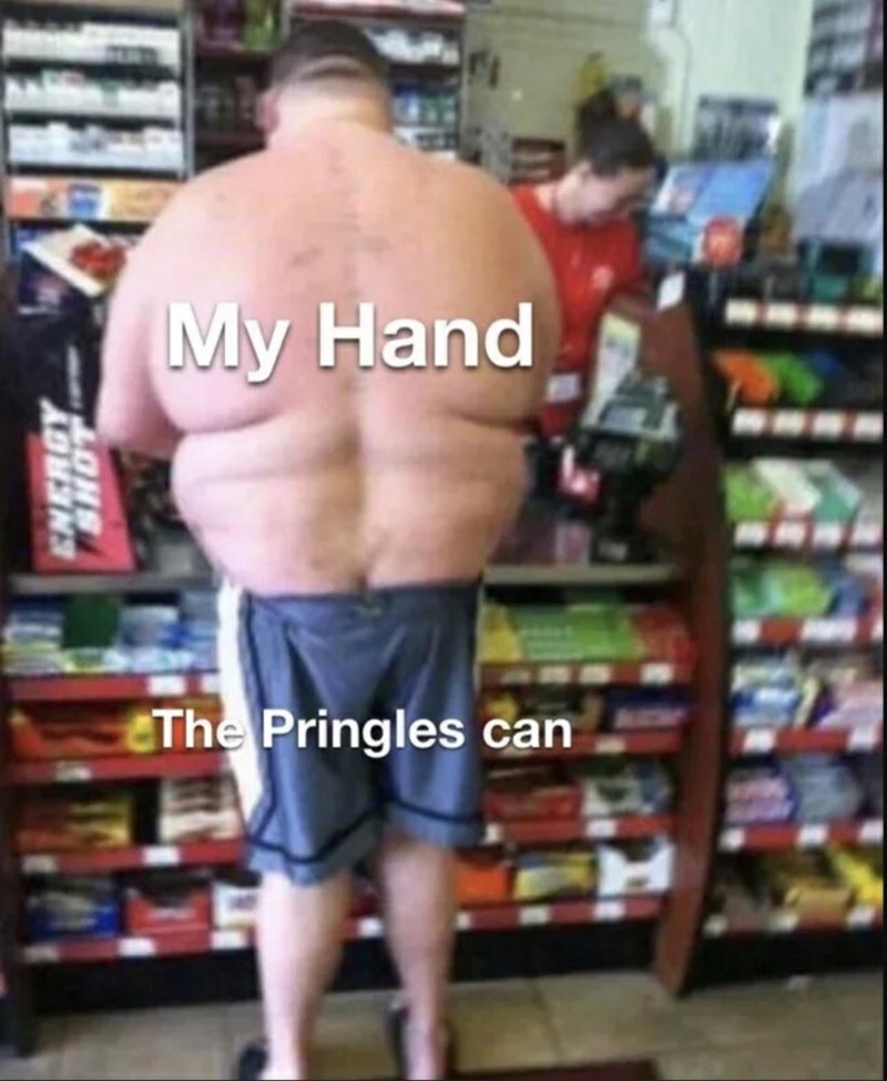 Joint - My Hand EThe Pringles can ENERGY LONS