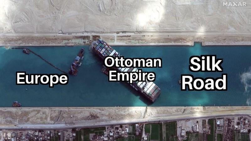 Font - MAXAR Ottoman Empire Silk Road Europe