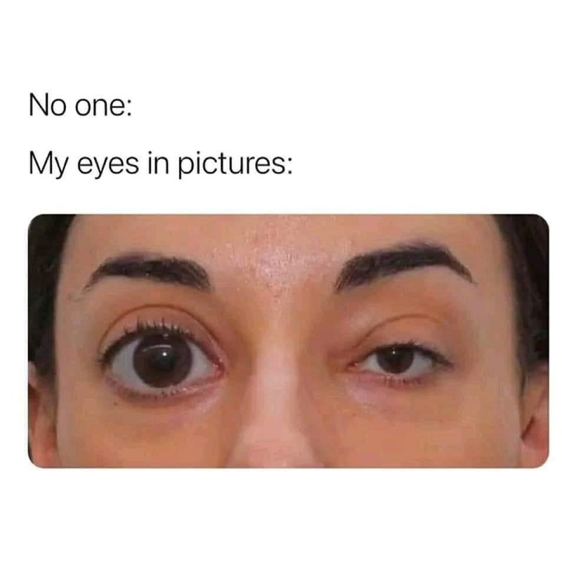 Nose - No one: My eyes in pictures:
