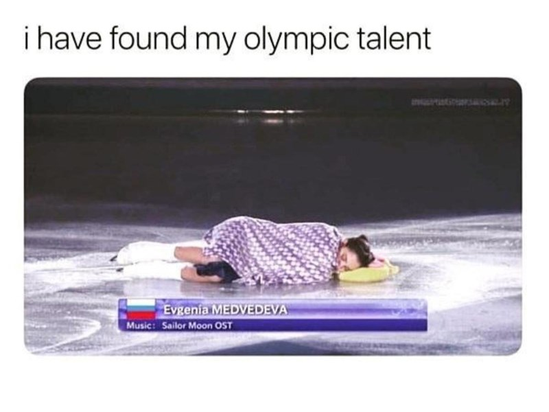Rectangle - i have found my olympic talent &PIEEVS Evgenia MEDVEDEVA Music: Sailor Moon OST