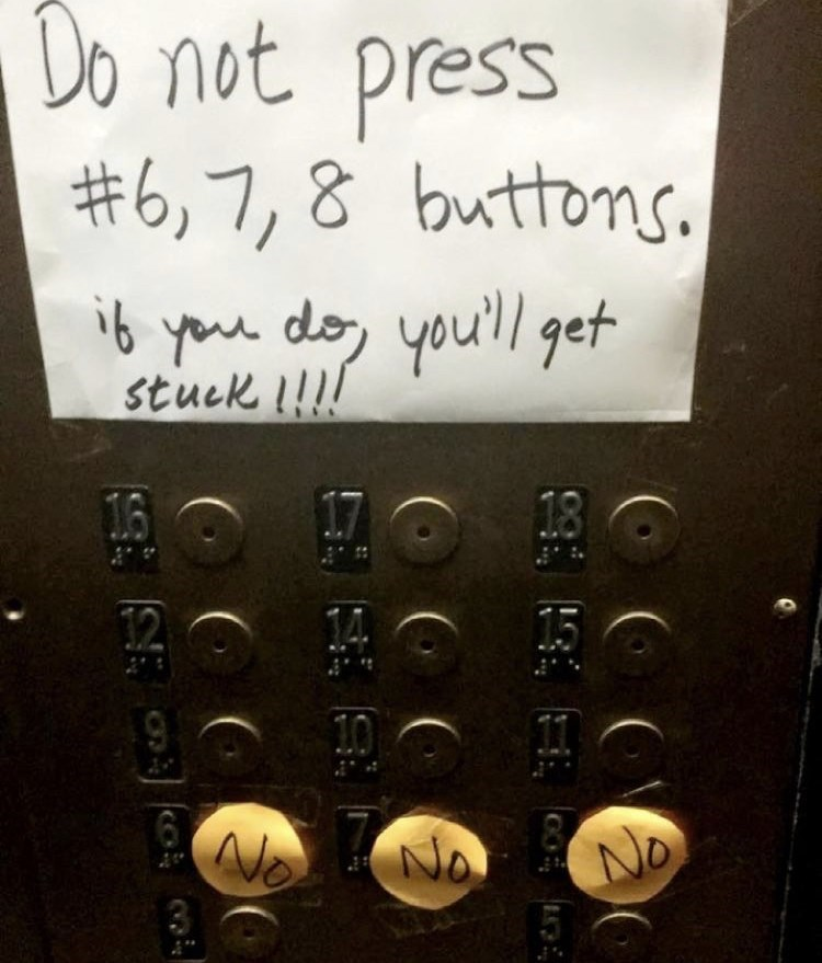 Handwriting - Do not press #6,7,8 buttons, ib you do, you'll get stuck !!!! 16 18 12 No No No