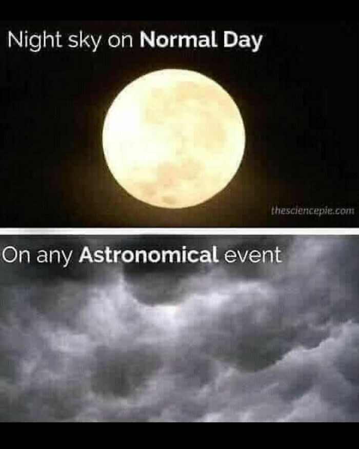 Sky - Night sky on Normal Day thesciencepie.com On any Astronomical event