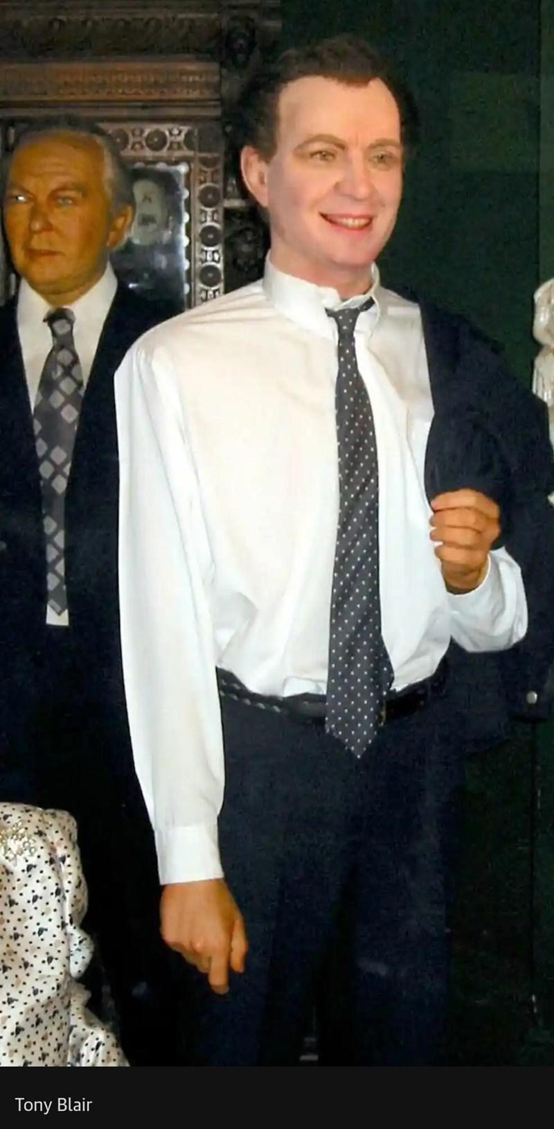 Clothing - Tony Blair