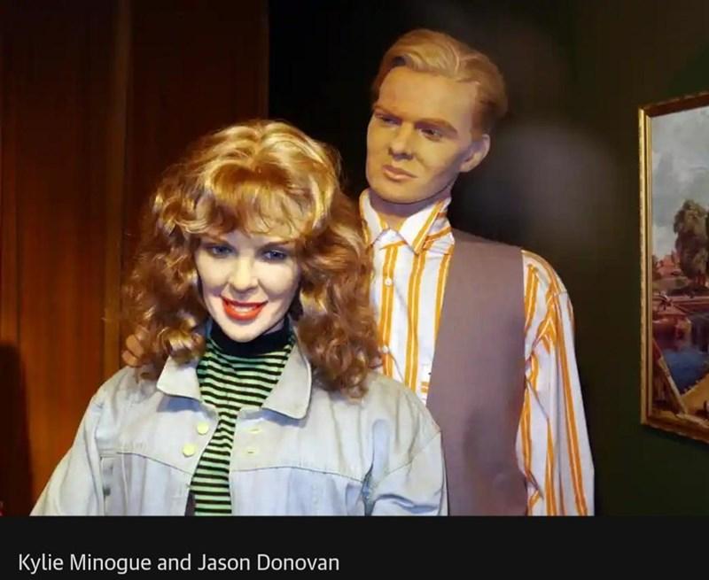 Chin - Kylie Minogue and Jason Donovan