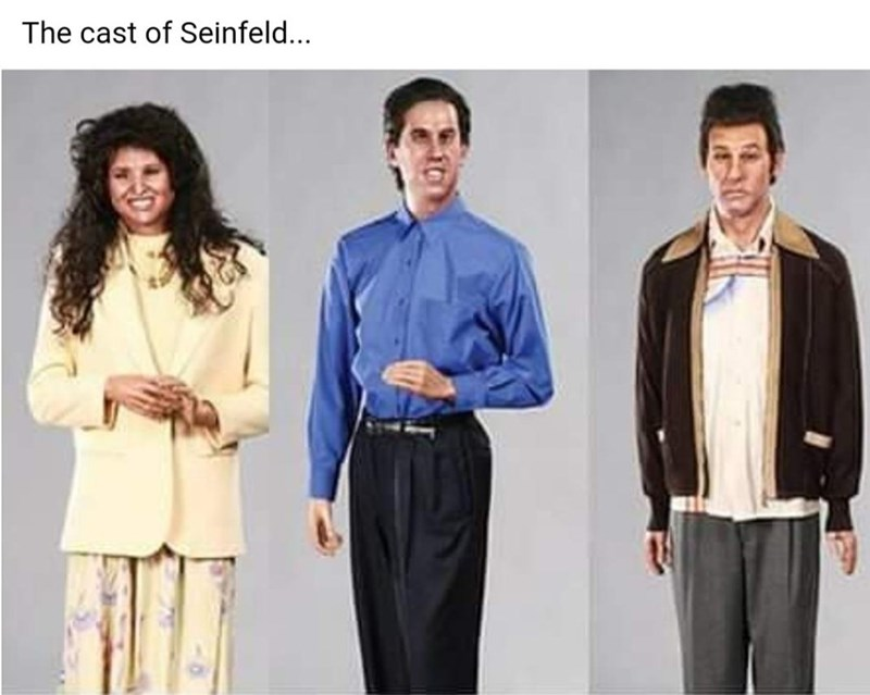 Product - The cast of Seinfeld...