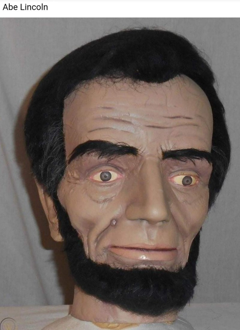 Forehead - Abe Lincoln