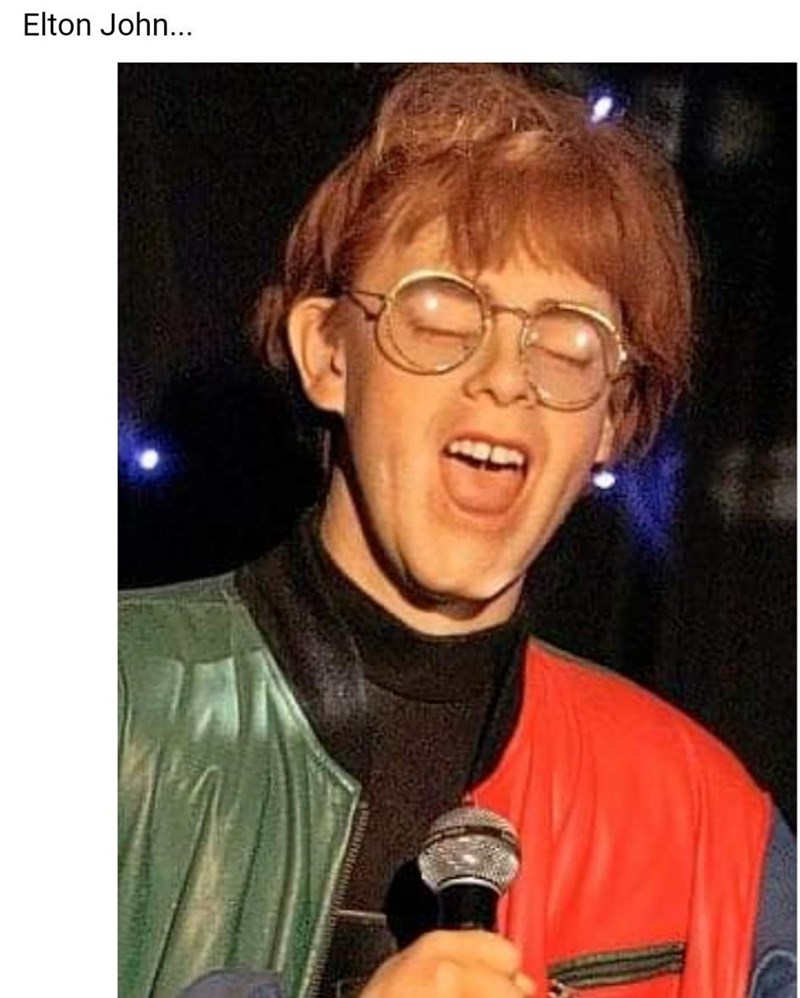Clothing - Elton John...