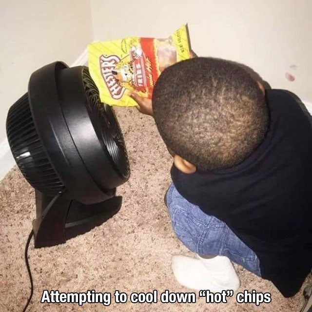 """Sports equipment - Attempting to cool down """"hot"""" chips"""
