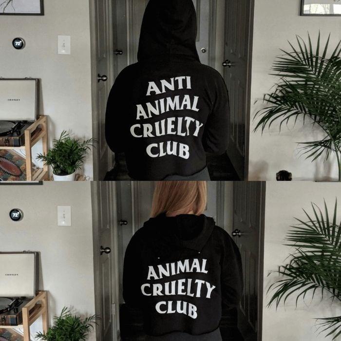 Clothing - ANTI ANIMAL CRUELTY CLUB ANIMAL CRUELTY CLUB