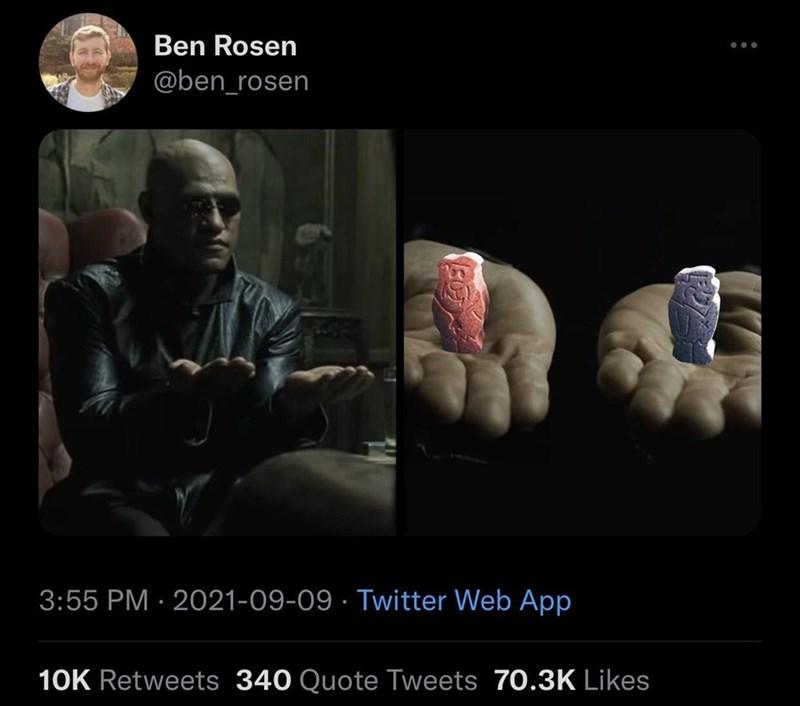 Gesture - Ben Rosen @ben_rosen 3:55 PM · 2021-09-09 · Twitter Web App 10K Retweets 340 Quote Tweets 70.3K Likes