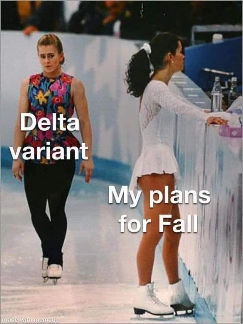 Footwear - Delta variant My plans for Fall made with mematic
