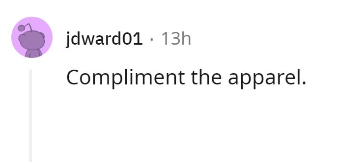 Font - jdward01 · 13h Compliment the apparel.