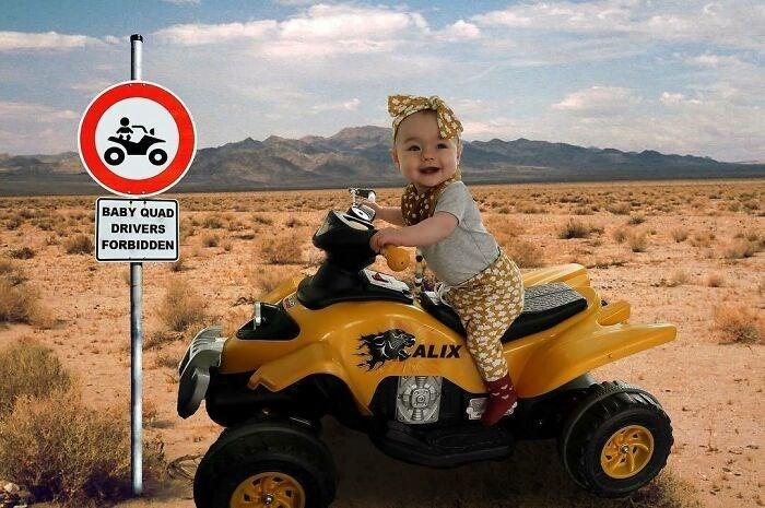 Wheel - BABY QUAD DRIVERS FORBIDDEN CALIX