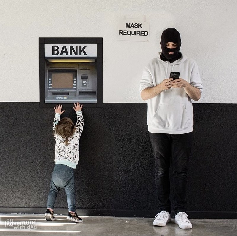Footwear - MASK REQUIRED BANK Adventure witth dAd